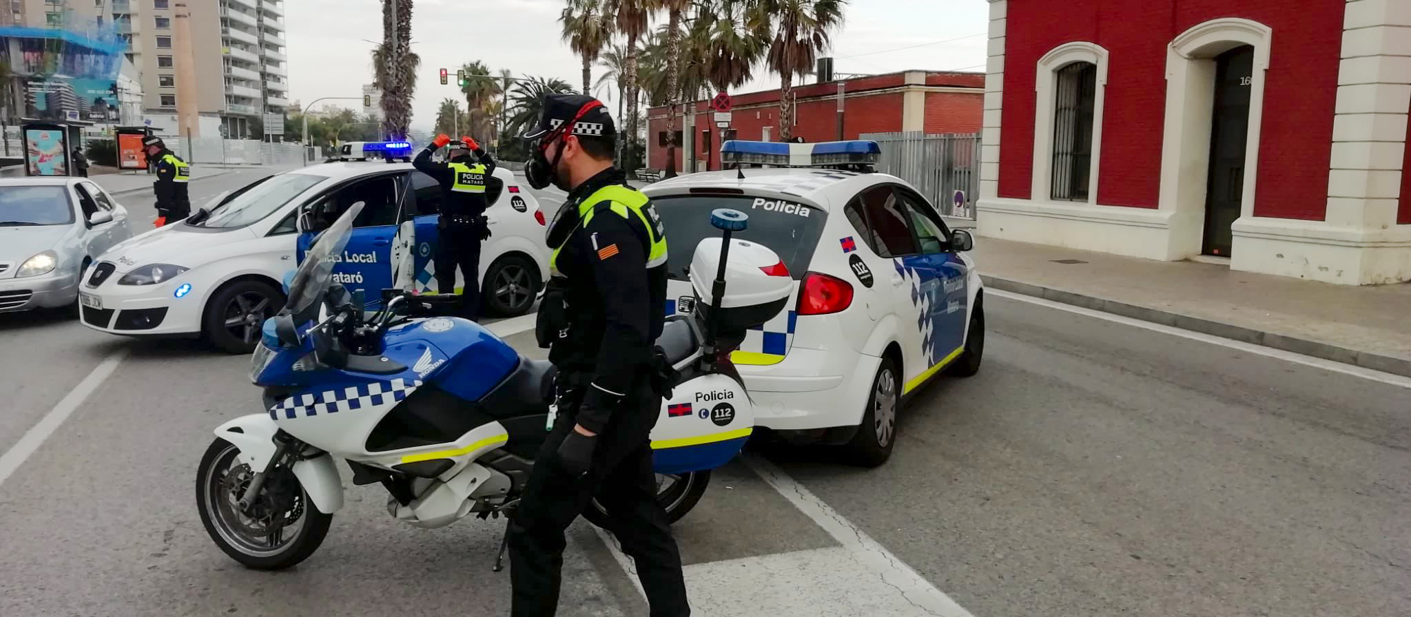Control policial. Imatge d'arxiu.