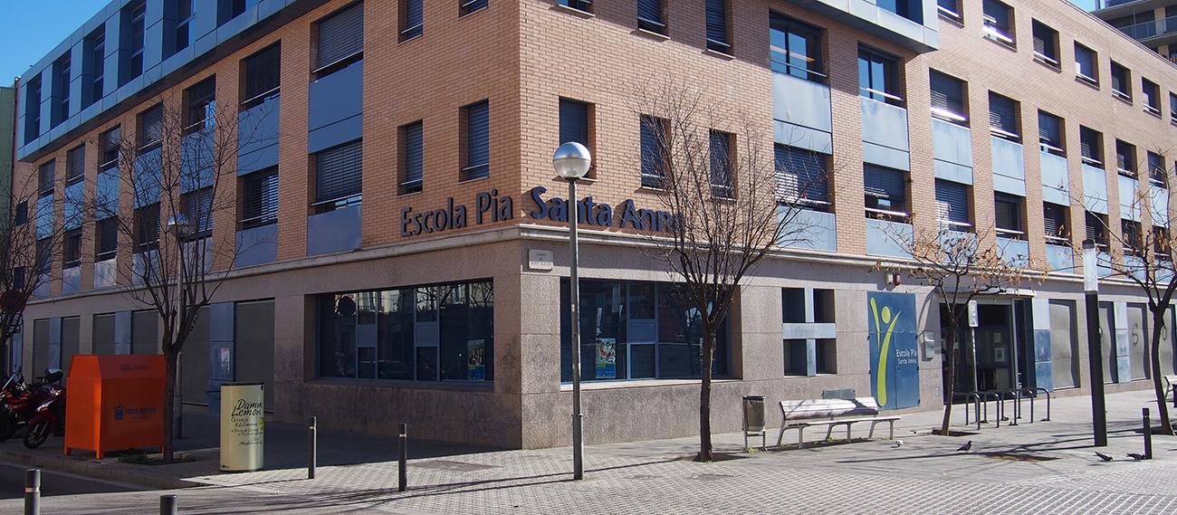 Escola Pia Santa Anna, un de les escoles amb grups confinats