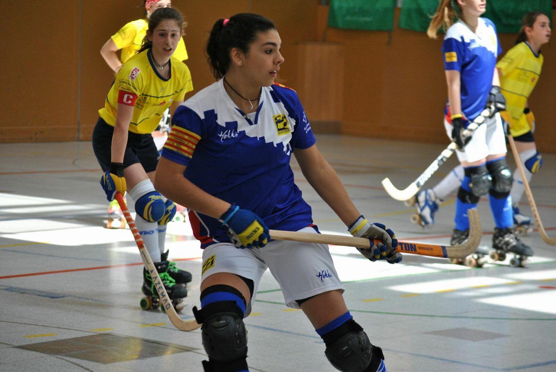 Aina Florenza, jugant al CH Mataró