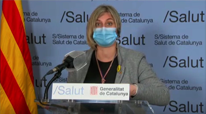 Alba Vergés, consellera de Salut