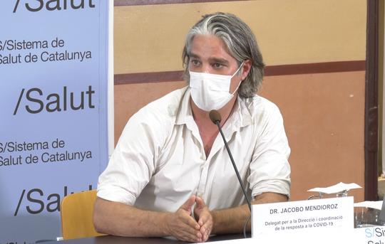 Jacobo Mendioroz, coordinador unitat específica de resposta a la COVID19. Foto: ACN