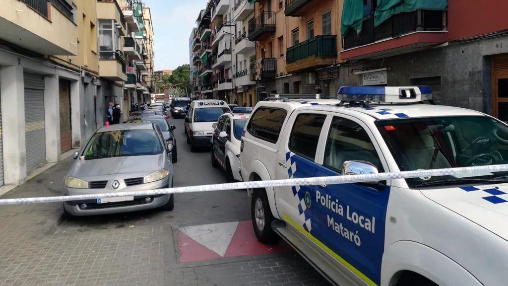 Operatiu policial conjunt per desallotjament de pisos ocupats. Foto: Ajuntament
