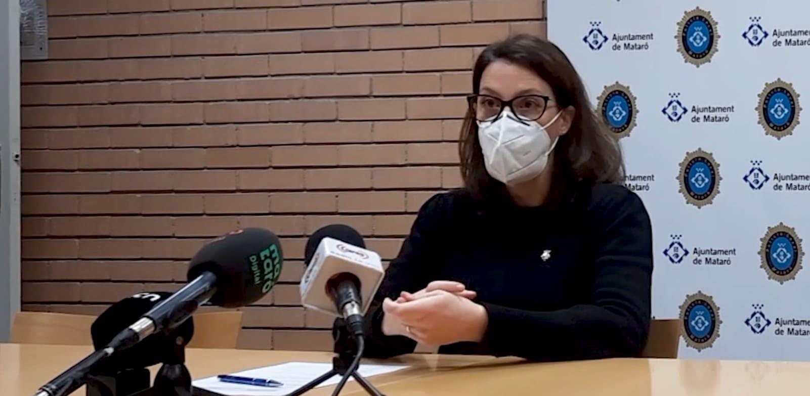 Roda de Premsa amb Anna Villareal, regidora de Seguretat Pública de Mataró