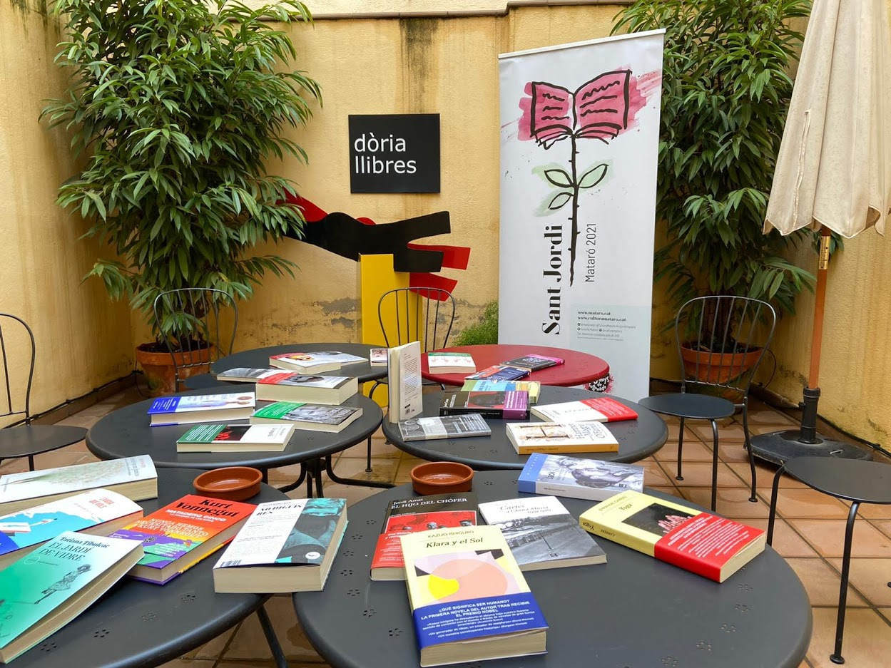 Roda de Premsa de Sant Jordi a dòria llibres