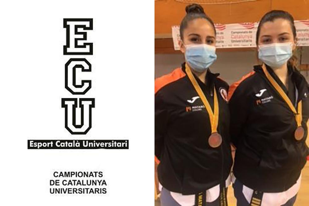 Medalles de bronze als Campionats de Catalunya Universitaris 2021