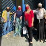 Les regidores d'Esquerra Republicana de Mataró visiten a la presidenta Carme Forcadell a la presó de Wad Ras