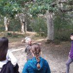 Una professora i quatre alumnes de l'Aula de Teatre participen al País Basc en el projecte Naturaren Sekretua