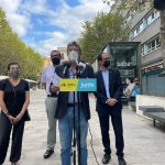 Esquerra i Junts denuncien la mala execució de les obres de la Plaça Santa Anna